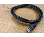 CAT5e to unterminated end, 1.5M cable assembly