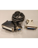 RS-232 Serial Interface Cable 1.8m & Adaptor